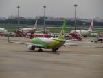 カップメーンさんが、ドンムアン空港で撮影したノックエア 737-86Nの航空フォト(写真)