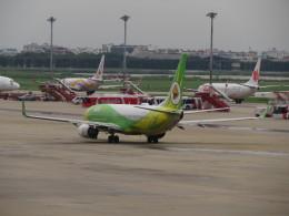 カップメーンさんが、ドンムアン空港で撮影したノックエア 737-86Nの航空フォト(飛行機 写真・画像)