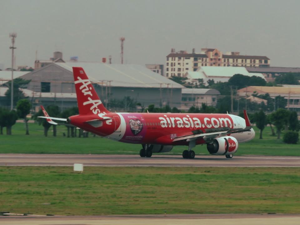 カップメーンさんのタイ・エアアジア Airbus A320neo (HS-BBY) 航空フォト