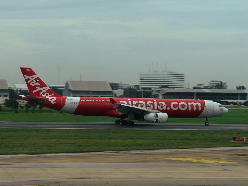 カップメーンさんのタイ・エアアジア・エックス Airbus A330-300 (HS-XTH) 航空フォト