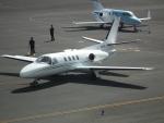 ヒコーキグモさんが、岡南飛行場で撮影した日本法人所有 501 Citation I/SPの航空フォト(写真)