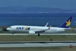 kumagorouさんが、那覇空港で撮影したスカイマーク 737-81Dの航空フォト(写真)