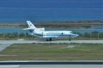 kumagorouさんが、那覇空港で撮影した海上保安庁 Falcon 900の航空フォト(飛行機 写真・画像)