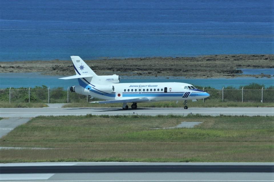 kumagorouさんの海上保安庁 Dassault Falcon 900 (JA8570) 航空フォト