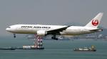 FlyingMonkeyさんが、香港国際空港で撮影した日本航空 777-246/ERの航空フォト(写真)