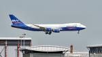 FlyingMonkeyさんが、香港国際空港で撮影したシルクウェイ・ウェスト・エアラインズ 747-83QFの航空フォト(写真)