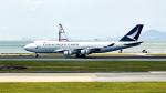 FlyingMonkeyさんが、香港国際空港で撮影したキャセイパシフィック航空 747-467F/ER/SCDの航空フォト(写真)