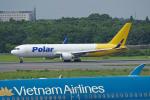 apphgさんが、成田国際空港で撮影したポーラーエアカーゴ 767-3JHF(ER)の航空フォト(写真)