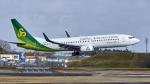 FlyingMonkeyさんが、成田国際空港で撮影した春秋航空日本 737-81Dの航空フォト(写真)