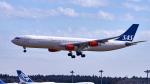 FlyingMonkeyさんが、成田国際空港で撮影したスカンジナビア航空 A340-313Xの航空フォト(写真)
