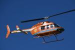 チャーリーマイクさんが、東京ヘリポートで撮影した新日本ヘリコプター 206L-3 LongRanger IIIの航空フォト(写真)