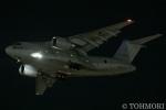 遠森一郎さんが、福岡空港で撮影した航空自衛隊 C-2の航空フォト(写真)