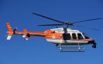 チャーリーマイクさんが、東京ヘリポートで撮影した新日本ヘリコプター 407の航空フォト(写真)