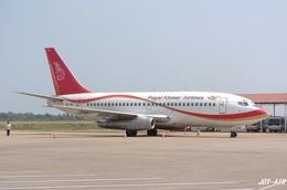 JOY-AIRさんが、シェムリアップ国際空港で撮影したロイヤル・クメール・エアラインズ 737-2H4/Advの航空フォト(飛行機 写真・画像)