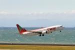 raiden0822さんが、中部国際空港で撮影したティーウェイ航空 737-8Q8の航空フォト(写真)