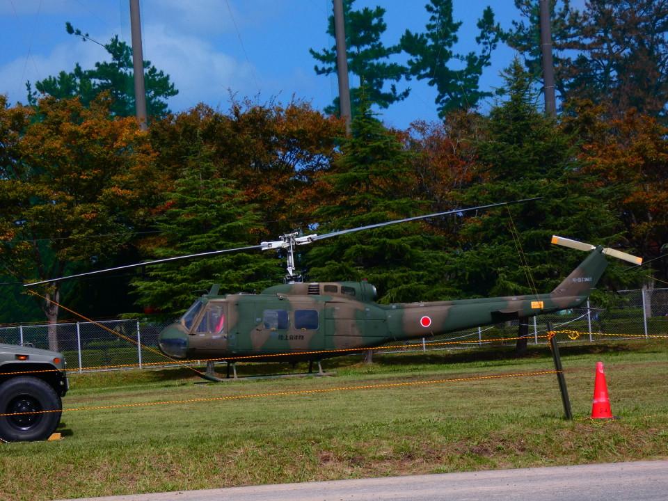 yutopさんの陸上自衛隊 Fuji UH-1H (41676) 航空フォト