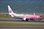 ドラパチさんが、中部国際空港で撮影した日本トランスオーシャン航空 737-8Q3の航空フォト(写真)