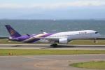 ドラパチさんが、中部国際空港で撮影したタイ国際航空 A350-941XWBの航空フォト(写真)