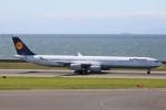 ドラパチさんが、中部国際空港で撮影したルフトハンザドイツ航空 A340-642Xの航空フォト(写真)