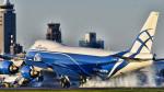 パンダさんが、成田国際空港で撮影したエアブリッジ・カーゴ・エアラインズ 747-8HVF(SCD)の航空フォト(飛行機 写真・画像)