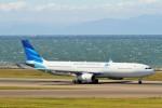 raiden0822さんが、中部国際空港で撮影したガルーダ・インドネシア航空 A330-343Xの航空フォト(写真)