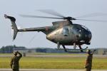meskinさんが、三沢飛行場で撮影した陸上自衛隊 OH-6Dの航空フォト(写真)
