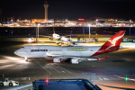 kuraykiさんが、羽田空港で撮影したカンタス航空 747-438/ERの航空フォト(写真)