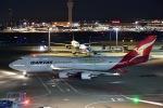 チョロ太さんが、羽田空港で撮影したカンタス航空 747-438/ERの航空フォト(写真)