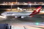 Tia spotterさんが、羽田空港で撮影したカンタス航空 747-438/ERの航空フォト(写真)