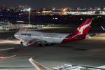 かずまっくすさんが、羽田空港で撮影したカンタス航空 747-438/ERの航空フォト(写真)