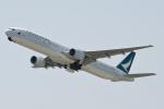 panchiさんが、関西国際空港で撮影したキャセイパシフィック航空 777-367の航空フォト(写真)
