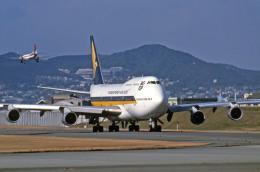 Gambardierさんが、伊丹空港で撮影したシンガポール航空 747-312Mの航空フォト(写真)
