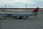 NAOHIROさんが、中部国際空港で撮影したノースウエスト航空 747-451の航空フォト(写真)