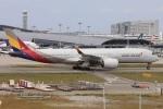 NAOHIROさんが、関西国際空港で撮影したアシアナ航空 A350-941XWBの航空フォト(写真)