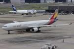 NAOHIROさんが、羽田空港で撮影したアシアナ航空 A330-323Xの航空フォト(写真)