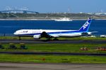 まいけるさんが、羽田空港で撮影した全日空 777-381の航空フォト(写真)