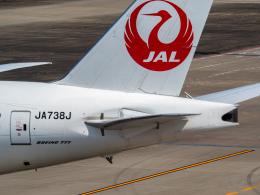 名無しの権兵衛さんが、羽田空港で撮影した日本航空 777-346/ERの航空フォト(飛行機 写真・画像)