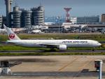 名無しの権兵衛さんが、羽田空港で撮影した日本航空 777-346/ERの航空フォト(写真)
