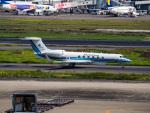名無しの権兵衛さんが、羽田空港で撮影した海上保安庁 G-V Gulfstream Vの航空フォト(写真)