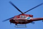 qh-113さんが、松本空港で撮影した静岡市消防航空隊 412EPの航空フォト(写真)