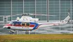チャーリーマイクさんが、東京ヘリポートで撮影した国土交通省 地方整備局 412EPの航空フォト(写真)