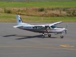 ここはどこ?さんが、札幌飛行場で撮影したアジア航測 208 Caravan Iの航空フォト(写真)