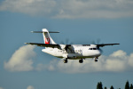 HS888さんが、鹿児島空港で撮影した日本エアコミューター ATR-42-600の航空フォト(写真)