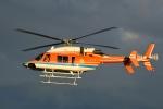 Mizuki24さんが、東京ヘリポートで撮影した新日本ヘリコプター 427の航空フォト(写真)