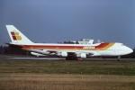 tassさんが、成田国際空港で撮影したイベリア航空 747-133の航空フォト(飛行機 写真・画像)