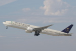 安芸あすかさんが、ロサンゼルス国際空港で撮影したサウディア 777-368/ERの航空フォト(写真)