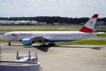 SFJ_capさんが、成田国際空港で撮影したオーストリア航空 777-2Z9/ERの航空フォト(写真)