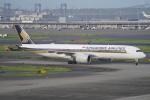 SFJ_capさんが、羽田空港で撮影したシンガポール航空 A350-941XWBの航空フォト(写真)