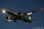 遠森一郎さんが、福岡空港で撮影したエバー航空 777-35E/ERの航空フォト(写真)