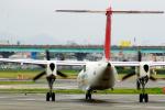 アングリー J バードさんが、福岡空港で撮影した日本エアコミューター DHC-8-402Q Dash 8の航空フォト(飛行機 写真・画像)